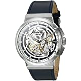 Kenneth Cole New York Men's 'Automatic' Automatic Stainless Steel and Blue Leather Dress Watch (Model: 10022316)