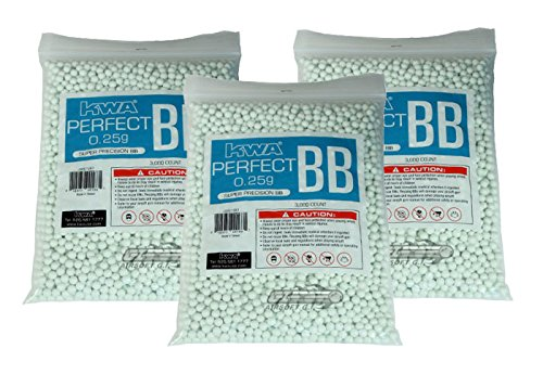 KWA .25 g 3000bbs 3 Bags Special ONLINE ONLY