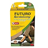 FUTURO Revitalizing Ultra Sheer Knee Highs for Women, Model 71060EN, Nude, Medium, 1 pr Pack of 2