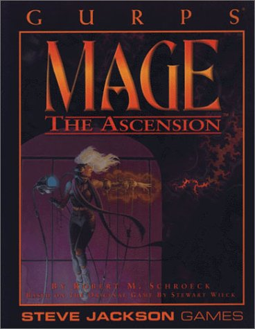 GURPS Mage The Ascension *OP (GURPS: Generic Universal Role Playing System)