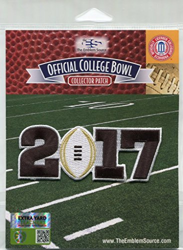 Official Licensed NCAA 2017 College Football Playoff Championship Jersey Patch (Ohio State Buckeyes Vs Alabama Crimson Tide)