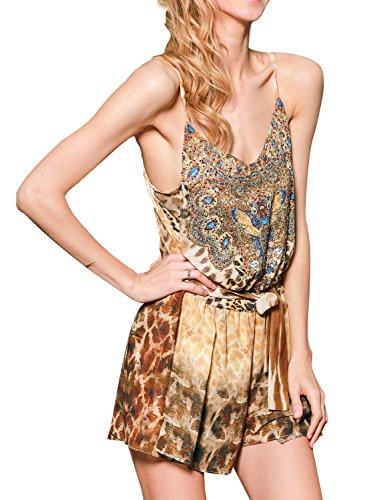 Leopard Print Romper - 5
