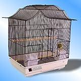 Jasmine in Black For Budgie Canaries Birds 60cm