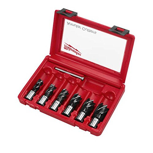 New Milwaukee 49-22-8400 Annular Cutter 6 Piece Set With Case Sale Warranty