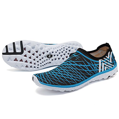 Fantiny Athletic Shoes Water Drying On Slip Sport CIOR Sneakers Aqua Men blue L Quick pdYUzq
