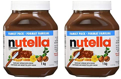 Amazon Com Nutella 6 6 Lbs Tub W Handle Bulk Size For High