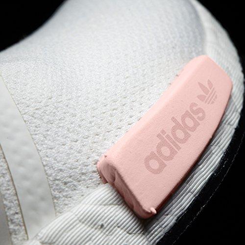 adidas Donna Nmd_r1 W BY9952, BY9647 Boost tecnologia scarpe sportive Unisex (39 1/3 EU - 6UK, Blanco/Rosa)