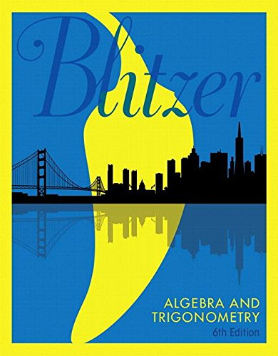 Algebra and Trigonometry, Books a la Carte Edition (6th Edition)