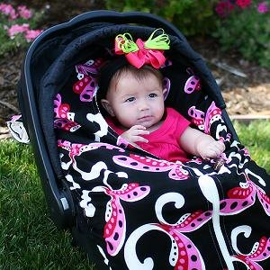 Snuggle Me Carseat Blanket Cover