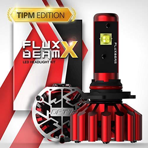 OPT7 Fluxbeam X 9005 LED Headlight Bulbs - TIPM Resistors Kit - 60w 8,400Lm 6K Daytime White CREE - All Bulb Sizes - 2 Yr Warranty - For Dodge, RAM, JEEP, Chrysler