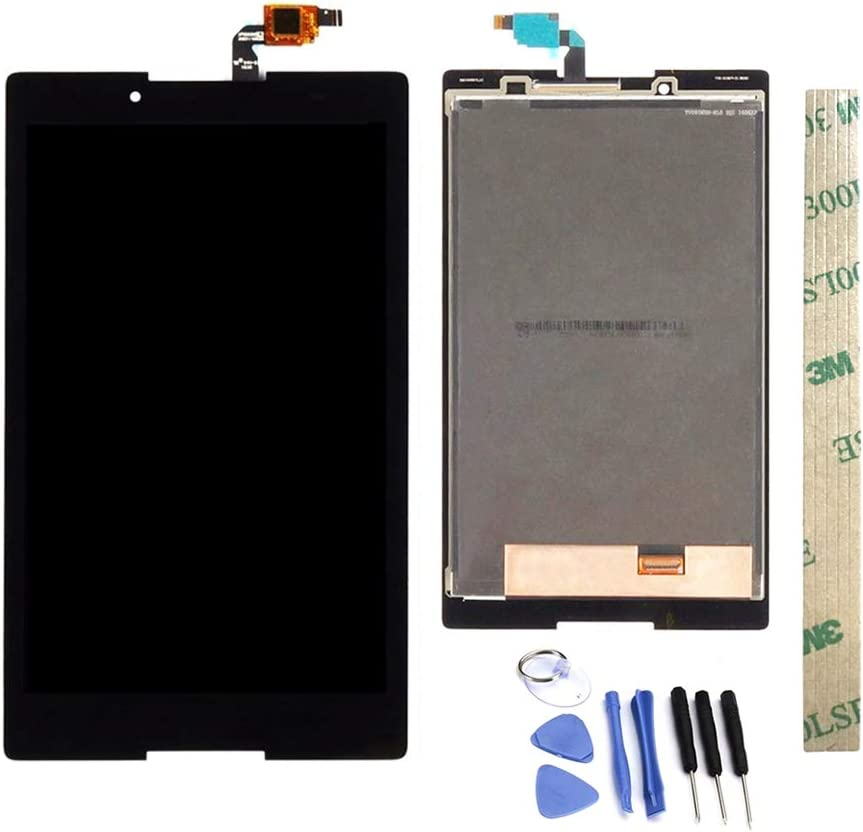 Dr.Chans LCD Display Screen Touch Digitizer Assembly Replacement with Free Tools for Lenovo Tab 3 850 TB3-850 TB3-850F TB3-850M Black