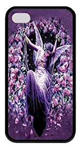 Gatekeeper Angel TPU Case Cover for iPhone 4 and iPhone 4s Black by Maris's Diary