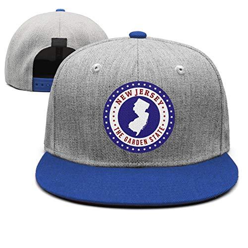 FulinZ Unisex Adjustable Hat New Jersey Map The Great Garden State Baseball Cap Dad Hat