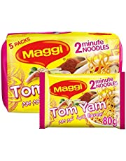 Maggi 2 Minute Noodle Tom Yam Flavor, 80 gm (Pack of 5)