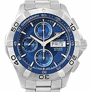 Tag Heuer Aquaracer automatic-self-wind mens Watch CAF2012.BA0815 (Certified Pre-owned)