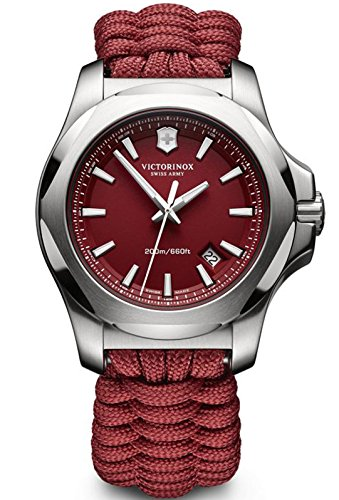 Victorinox I.N.O.X. Paracord Red Dial Mens Watch 241744