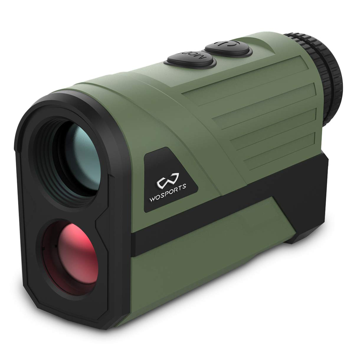 WOSPORTS 1000 Yards Hunting Rangefinder Laser Rangefinder Archery Bow Hunting Ranging with Flagpole Lock Ranging Scan Speed