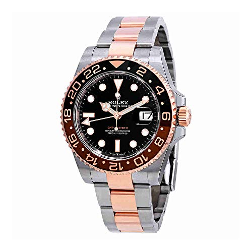 Rolex GMT-Master II Automatic Mens Steel and 18 ct Everose Gold Oyster Watch 126711BKSO from Rolex