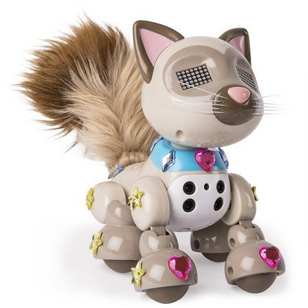 Zoomer Meowzies Sparkles interactive pet toy