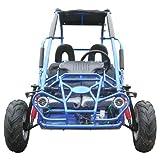 TRAILMASTER XRX MID-SIZE 200cc KIDS GO KART- BLUE