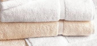 Bath Towel, White, 27x50, PK12