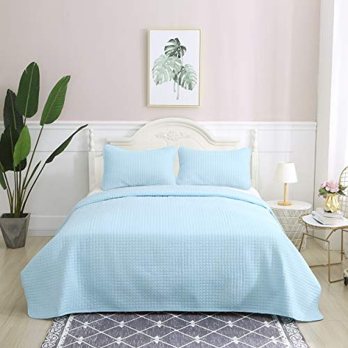 light blue bedding twin - 6