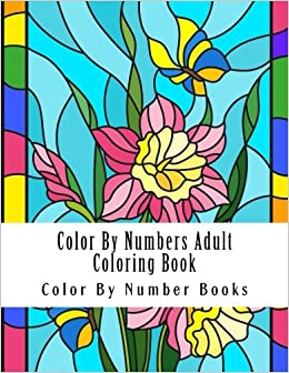 Color By Numbers Adult Coloring Book Butterflies Adult Color By