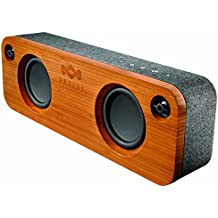 "House of Marley, Get Together Bluetooth Portable Audio System -  3.5"" Woofer & 1"" Tweeters, 30m Wireless Range, 8 hour Playtime,Built In Battery, Sustainably Crafted, EM-JA006MI Midnight"