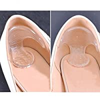 FinancePlan Gel Silicone Heel Grip Back Liner Shoe Insole Pads Foot Care Protector Cushion