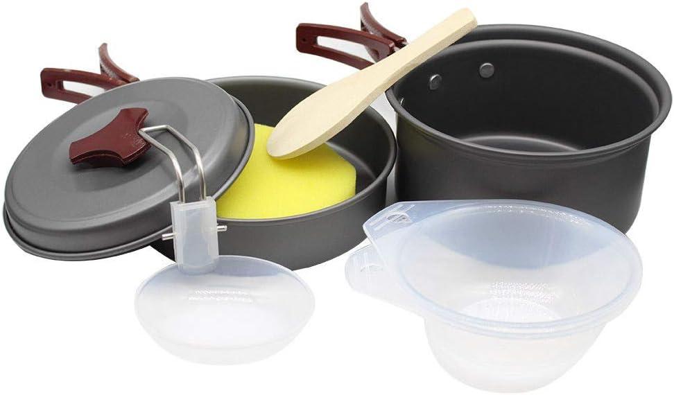 1-2 personas multi-función batería de cocina con Chef italiano en relieve batería de cocina: Amazon.es: Deportes y aire libre