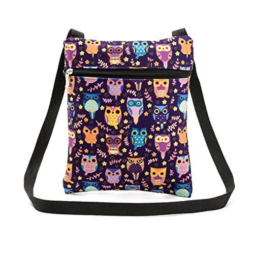 Printing Kanpola Package Tote Postman A Handbags Shoulder Bag B Owl Bags Women SgqwZdg