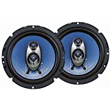Pyle PL63BL 6.5-Inch 360W 3-Way Speakers Pair
