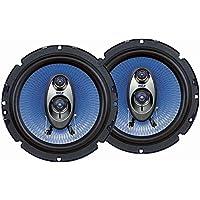 Pyle 6.5'' Three Way Sound Speaker System - Round Shaped...