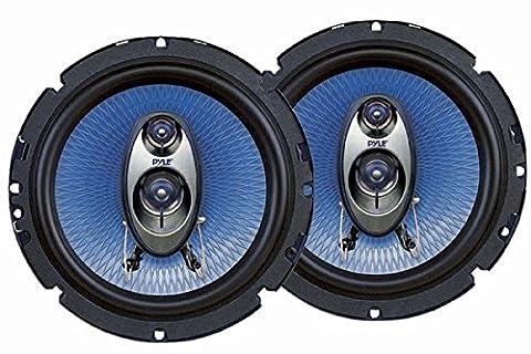 Pyle PL63BL 6.5-Inch 360-Watt 3-Way Speakers (Pair) (Car Speakers)
