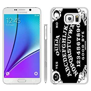 Newest Samsung Galaxy Note 5 Case ,Popular And Beautiful Designed Case With White Ouija Board white Samsung Galaxy Note 5 Screen Cover High Quality Phone Case
