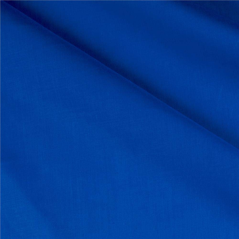 Ben Textiles 60in Poly Cotton Broadcloth Ocean Blue Fabric By The Yard