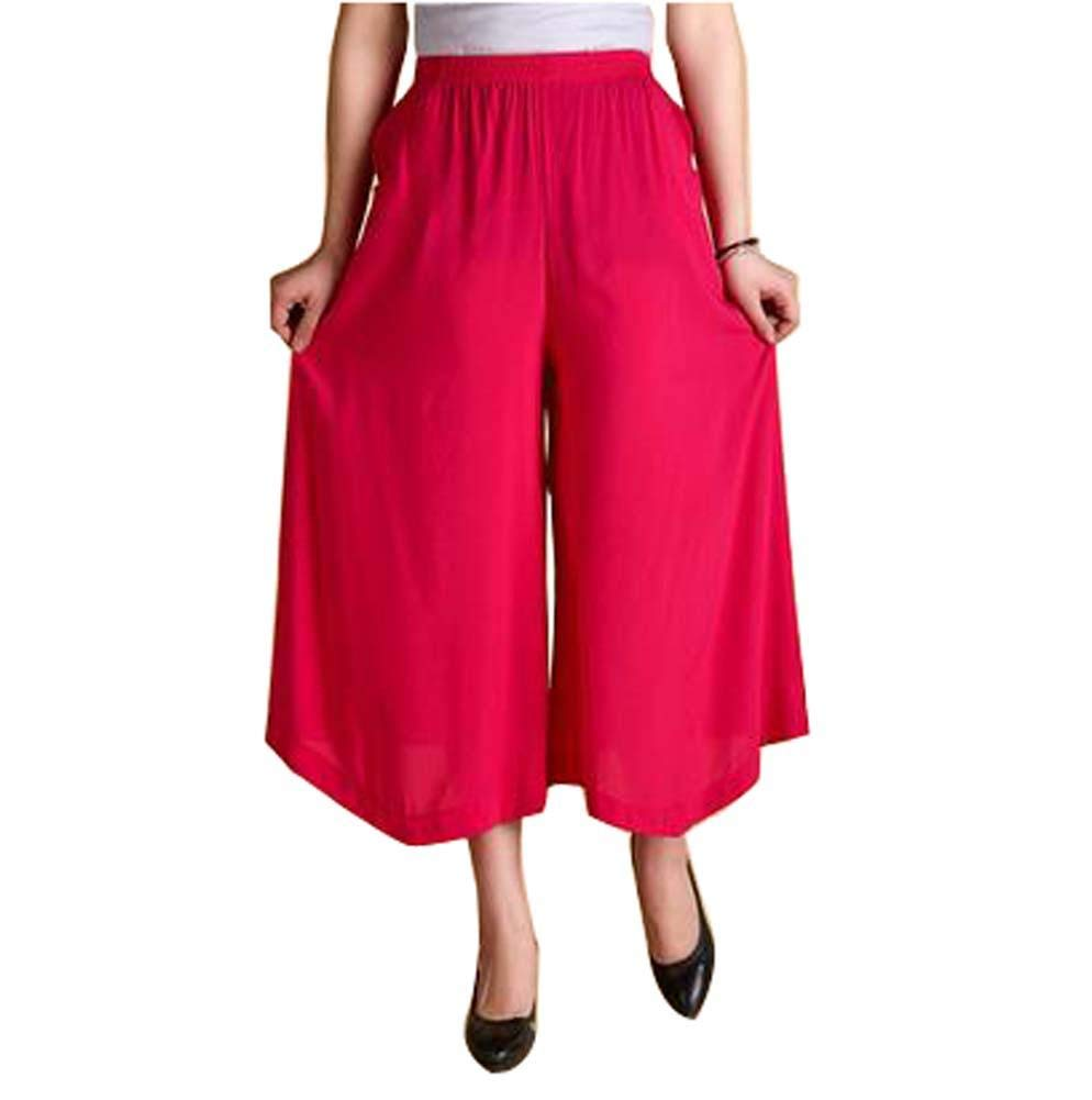Women's Fashion Everyday Casual Pants Outdoor Sport Loose Pants, Rose by Generic