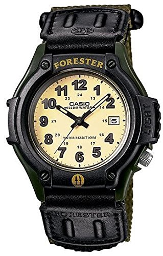 Casio Men's FT-500WC-3B Outdoor Forester Green Velcro Strap with Date Watch by Casio Watch