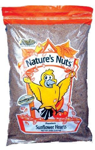 Chuckanut Products 00056 4-Pound Premium Sunflower Hearts (4lb Food Chickadee)