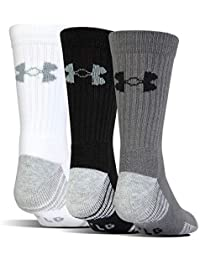 Youth Heatgear Tech Crew Socks, 3-Pairs