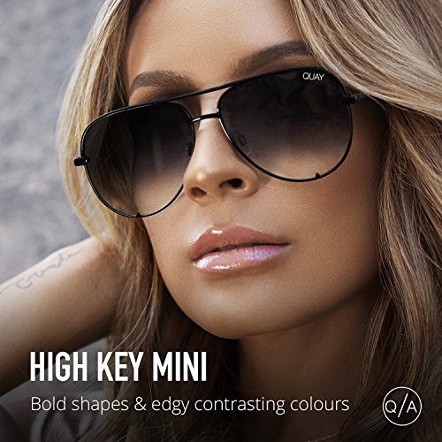 1297cd2f94 Quay Australia HIGH KEY MINI Men s and Women s Sunglasses Aviator ...