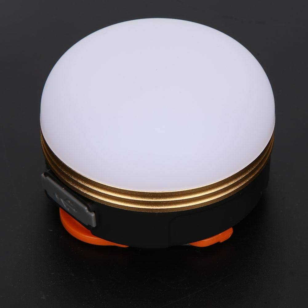 L/ámpara de la tienda Alto brillo Colgante port/átil Luz LED magn/ética Tienda Linterna Exterior USB Carga recargable Camping Luces de emergencia L/ámpara USB