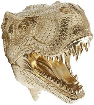 Near and Deer Faux Taxidermy T-Rex Dinosaur Head Wall Mount