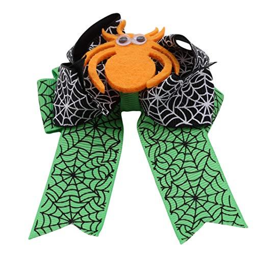 YouCY Spider Cobweb Hair Clip Cartoon Spider Cobweb