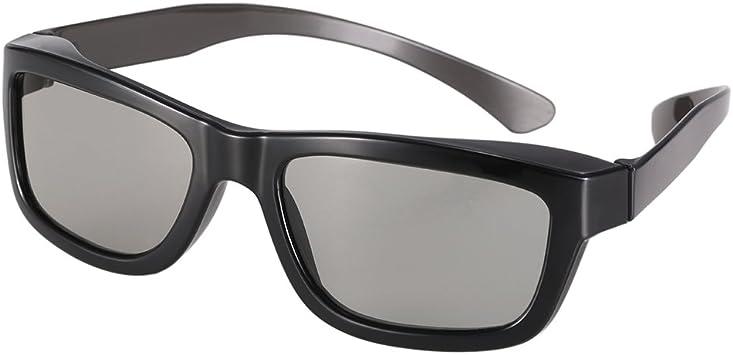Docooler Gafas 3D Pasivas Lentes Circulares Polarizadas para TV Polarizada Cines 3D real D para Sony Panasonic: Amazon.es: Electrónica