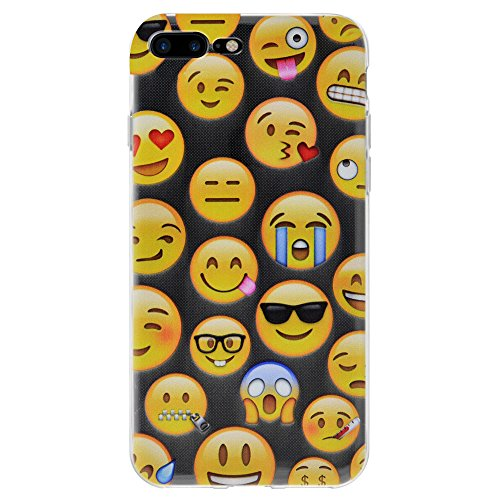 "Amzer Coque en gel souple transparent ""Emotions mixte coussin en TPU pour Apple iPhone 7 Plus"
