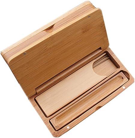 sleeri Caja de Almacenamiento de Incienso de bambú, Caja de Incienso, Caja de Incienso, Quemador de Incienso, Caja de Almacenamiento, tamaño pequeño para Incienso Corto, Longitud 12 cm: Amazon.es: Hogar