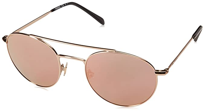 Fossil FOS 3069/S Gafas de Sol, Multicolor (Red Gold), 51 ...
