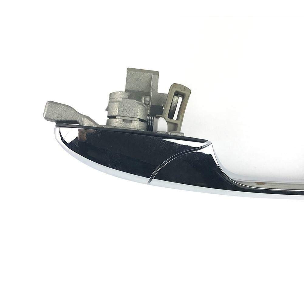 Lato Passeggero huangThroStore Maniglia della Portiera per Esterno L//R Cromo Left Side per Fiat 500 2012-2016