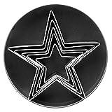 Fox Run 3686 Star Cookie Cutter Set, Stainless Steel, 5-Piece